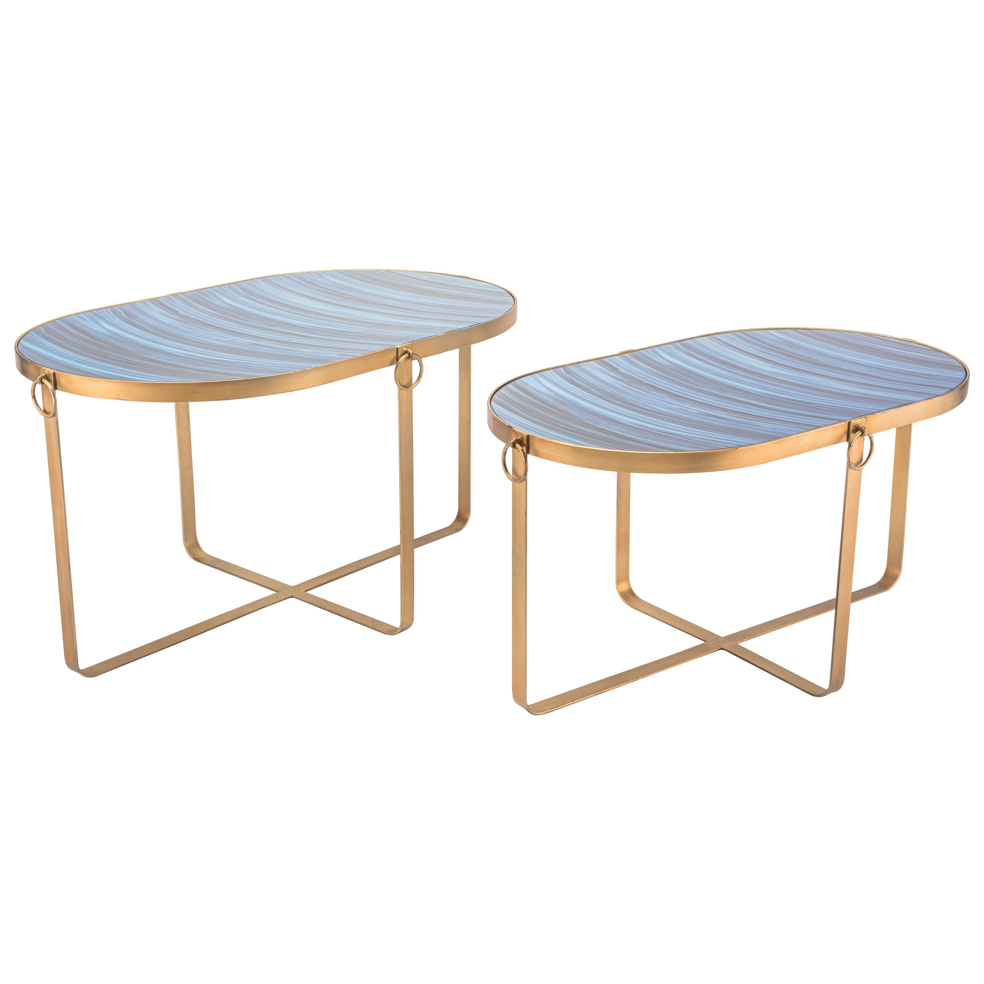 Zuo Accent Tables Zaphire Set of 2 Tables - Item Number: A10808