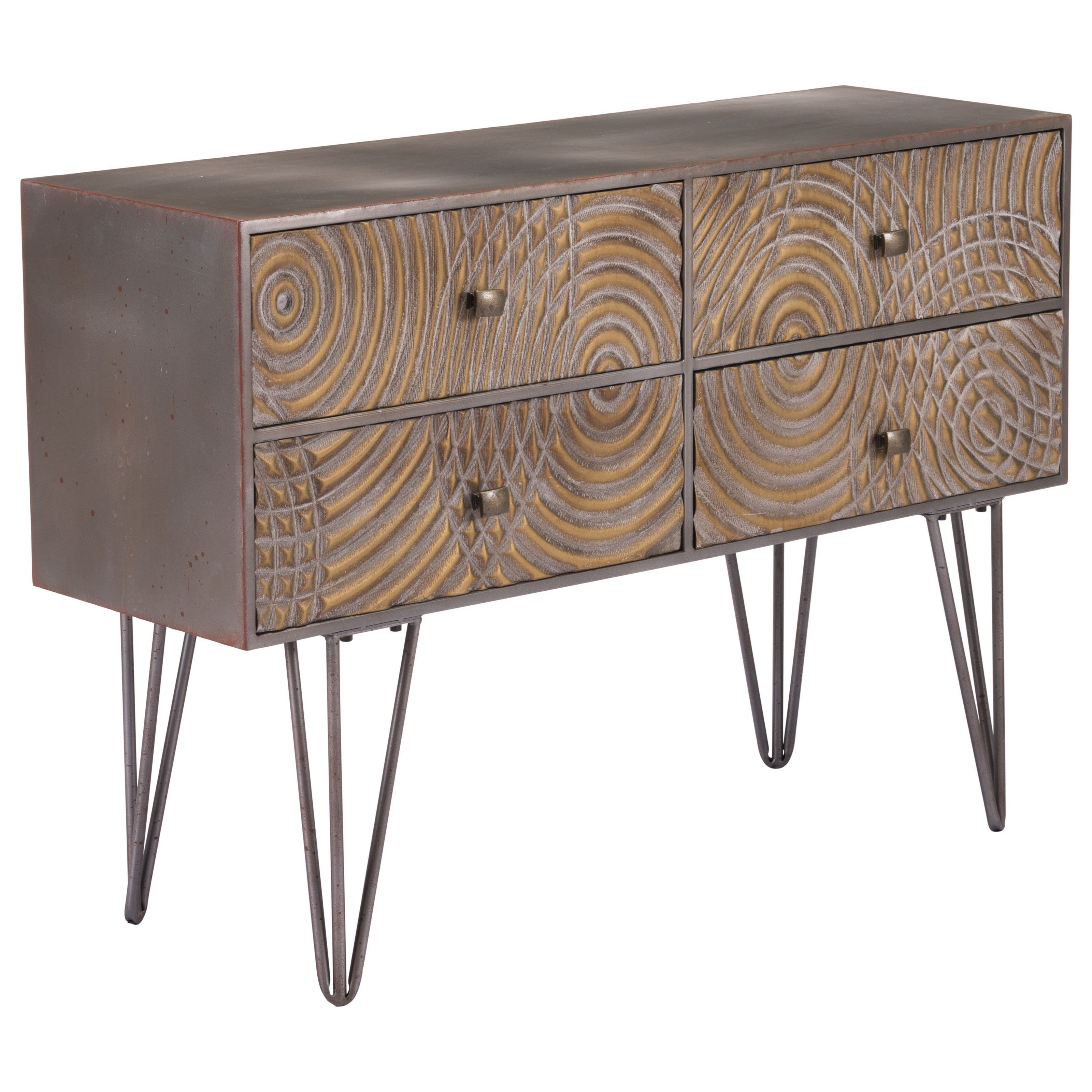 Zuo Accent Tables Circulos Console Table - Item Number: A10896