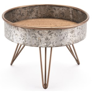 Zinc Round Table Small