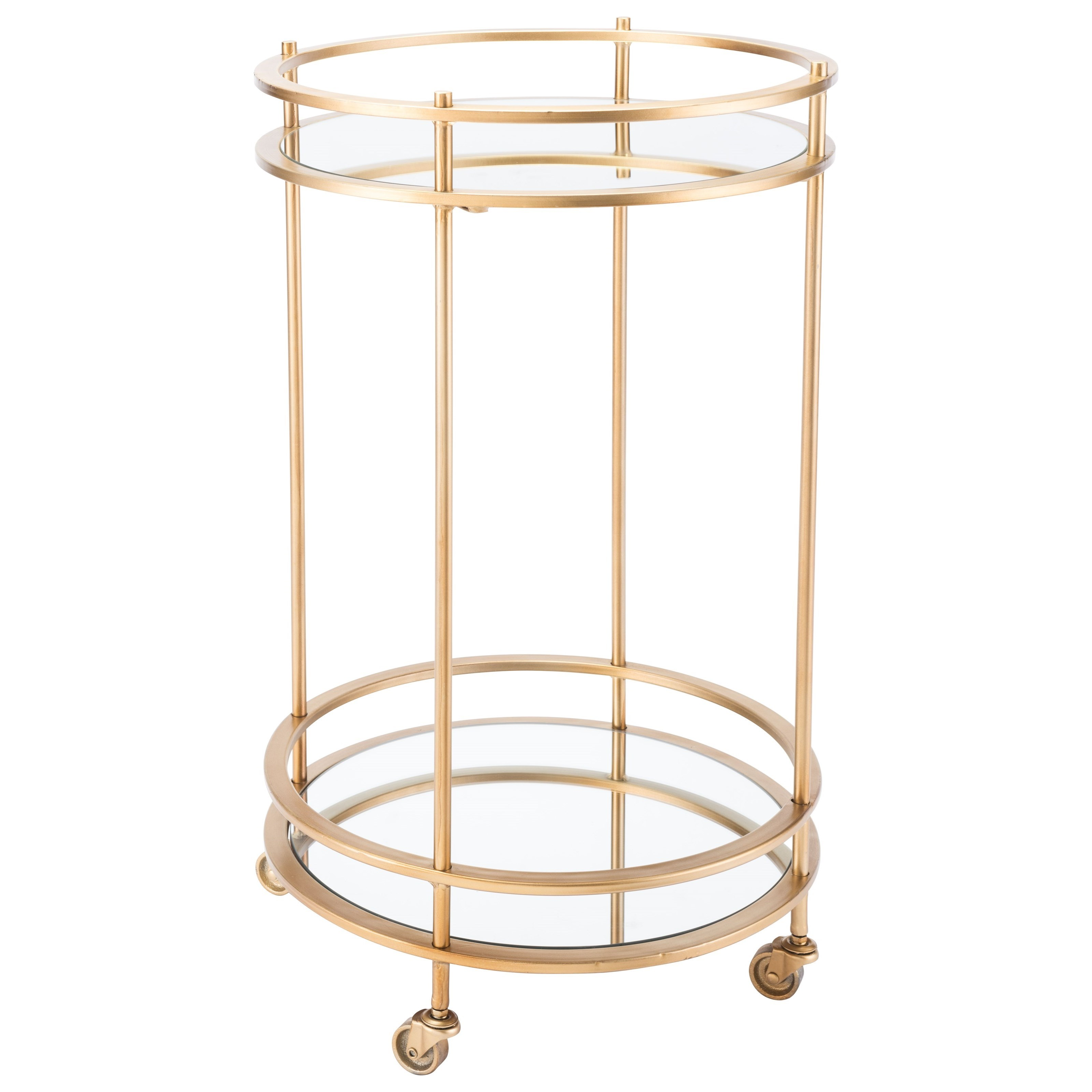 Zuo Accent Tables Round Bar Cart - Item Number: A11087