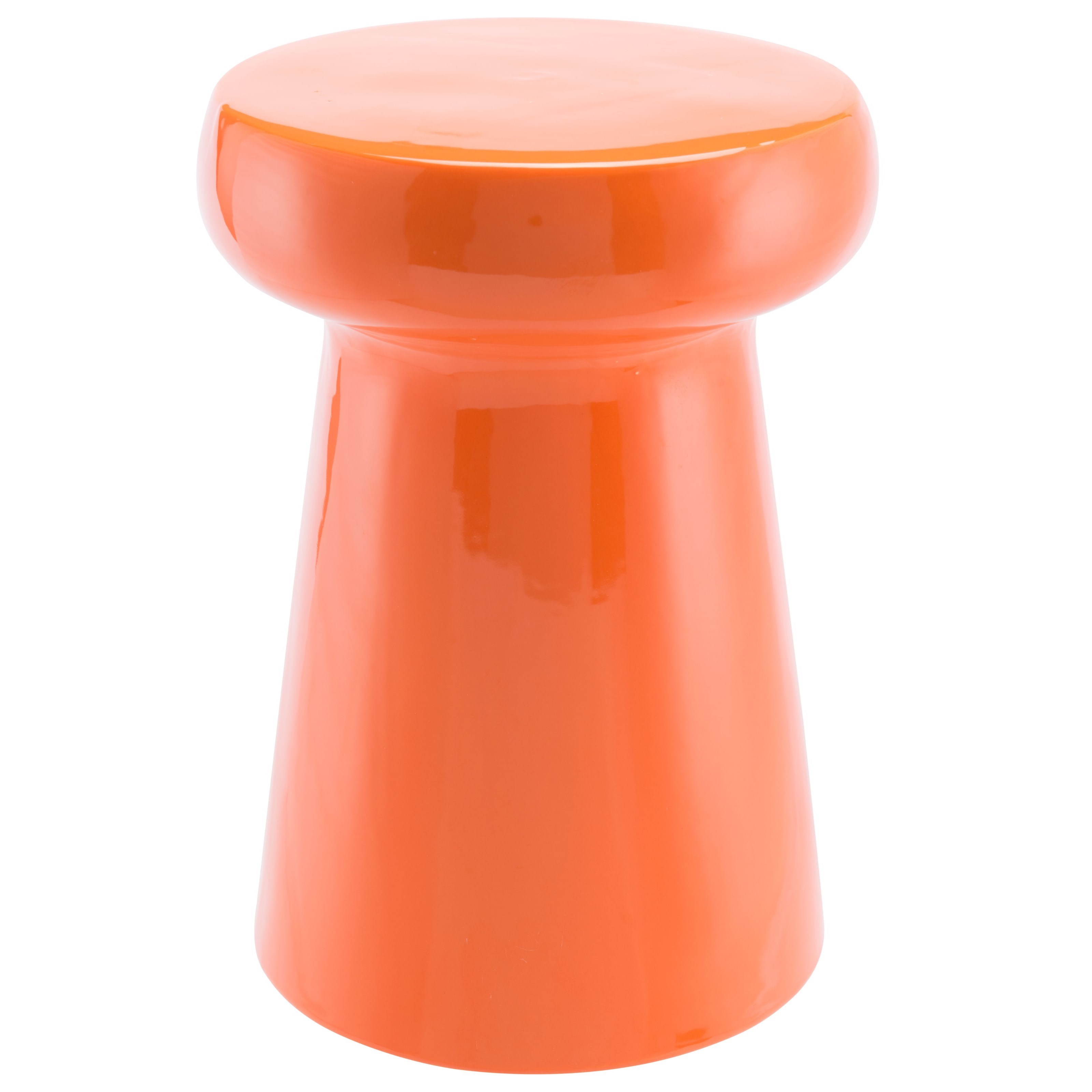 Zuo Accent Tables Orange Garden Seat - Item Number: A11090