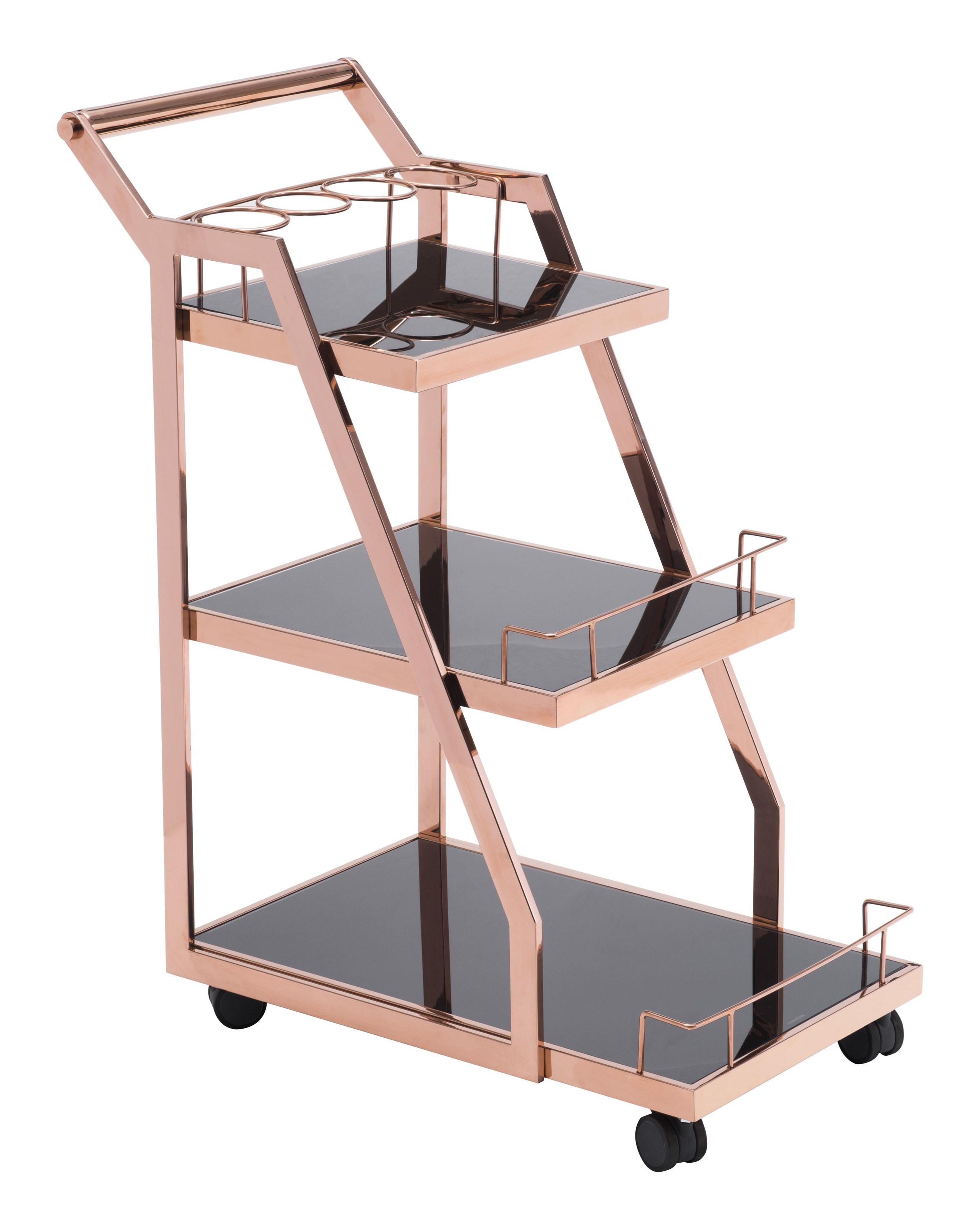 Zuo Acropolis Serving Cart - Item Number: 100368
