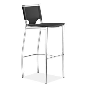 Zuo Bar Set of 2 Lark Bar Chairs