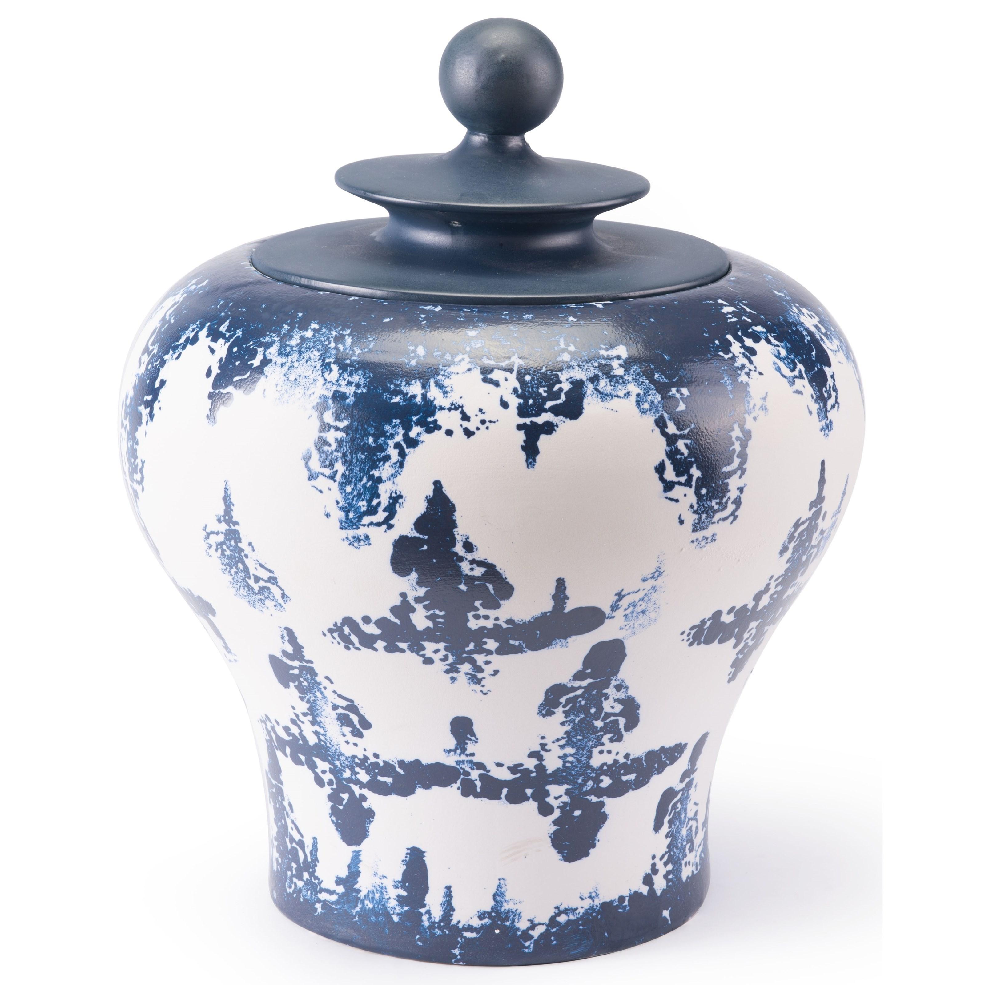 Zuo Bottles and Jars Mar Medium Temple Jar - Item Number: A10299