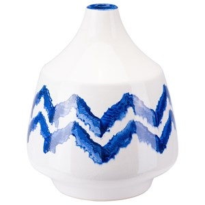 Zuo Bottles and Jars Chevron Bottle Small