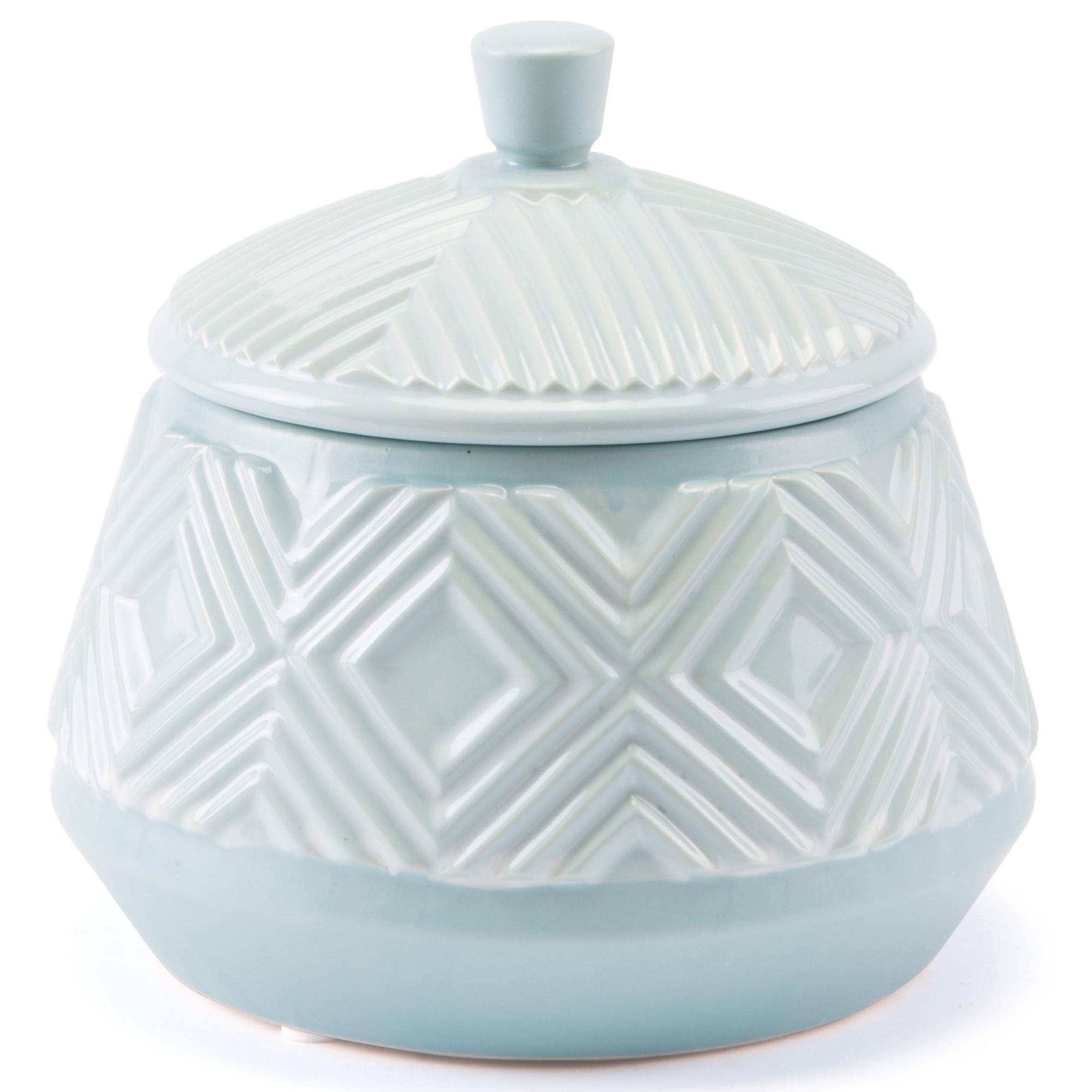 Herringbone Lid Jar