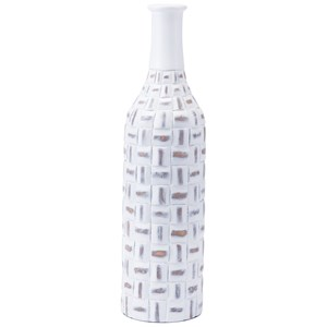 Zuo Bottles and Jars Mosaic Bottle Large