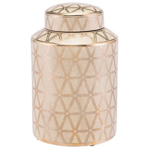 Zuo Bottles and Jars Link Covered Jar Small