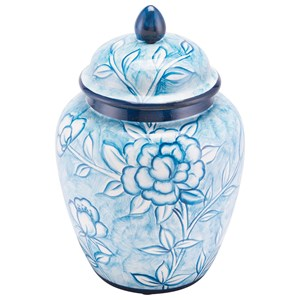 Zuo Bottles and Jars Flower Temple Jar Small