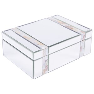 Zuo Boxes, Bowls and Trays Mop Stripes Mirror Box