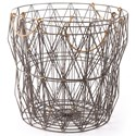 Zuo Boxes, Bowls and Trays Set of 3 Basket - Item Number: A10614
