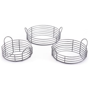 Zuo Boxes, Bowls and Trays Set of 3 Round Trays