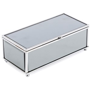 Zuo Boxes, Bowls and Trays Gris Mirror Box