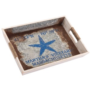 Zuo Boxes, Bowls and Trays Nautical Tray Small