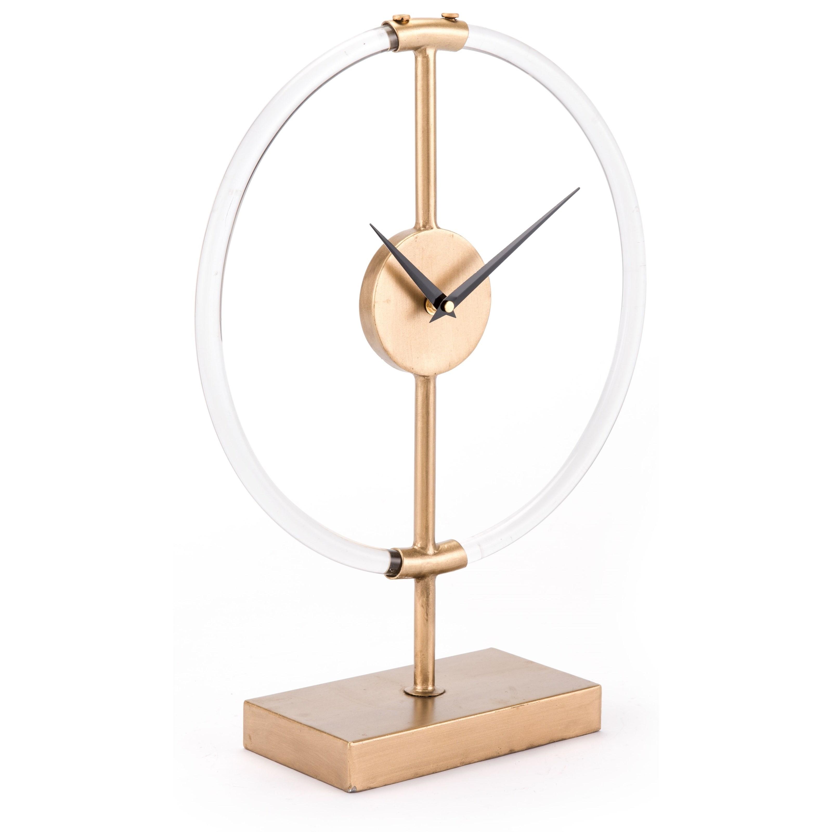 Zuo Clocks Clear Clock - Item Number: A10990