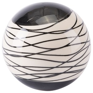Zuo Figurines and Objects Stripes Large Orb