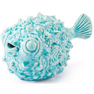 Zuo Figurines and Objects Blowfish Small