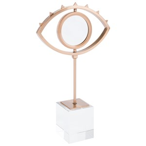 Zuo Figurines and Objects Eye with Stand