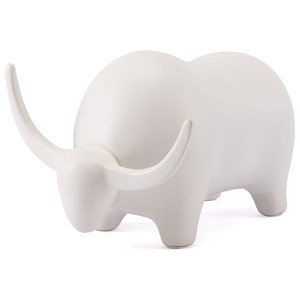 Zuo Figurines and Objects Bull White