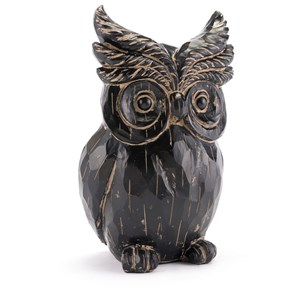 Zuo Figurines and Objects Black Owl