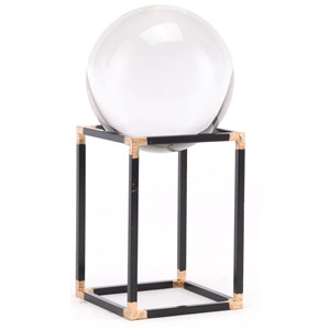 Zuo Figurines and Objects Black Orb Small