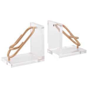 Zuo Figurines and Objects Clips Bookends