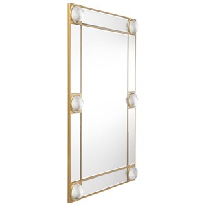 Zuo Mirrors Rectangle Lucite Mirror