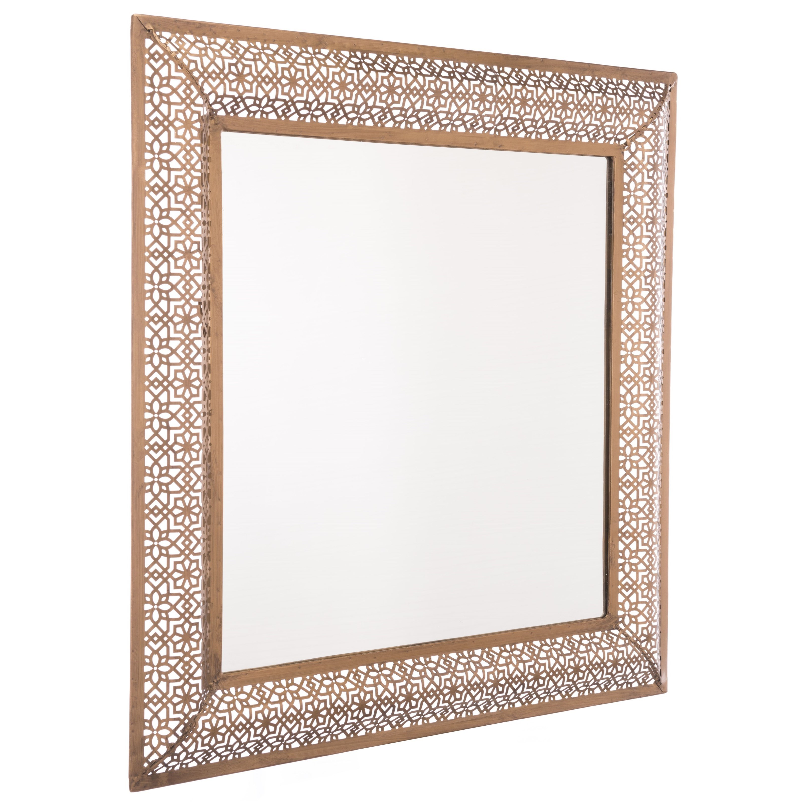 Zuo Mirrors Moroccan Escamas Mirror - Item Number: A10724