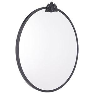 Zuo Mirrors Empire Round Mirror