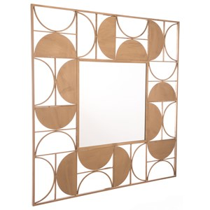 Zuo Mirrors Decade Gold Mirror