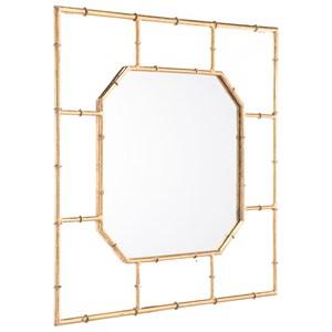 Zuo Mirrors Bamboo Square Mirror