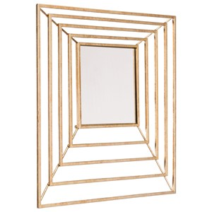 Zuo Mirrors Dimension Gold Mirror