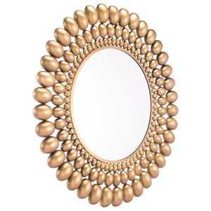 Zuo Mirrors Inha Gold Mirror