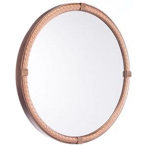 Zuo Mirrors Madi Circle Mirror