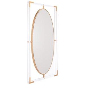 Zuo Mirrors Lucite Rectangular Mirror