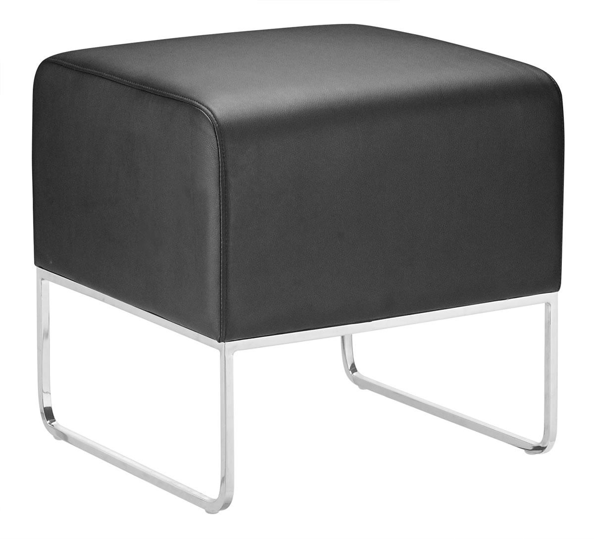 Zuo Occasional Collection Plush Square Ottoman - Item Number: 103003