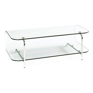 Zuo Occasional Collection Lujuria Glass Entertainment Stand