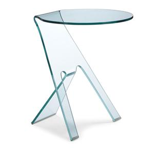 Zuo Occasional Collection Journey Glass Side Table