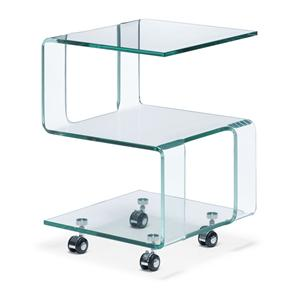 Zuo Occasional Collection Magellan Glass Side Table