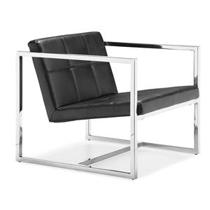 Zuo Occasional Collection Carbon Square Frame Chair