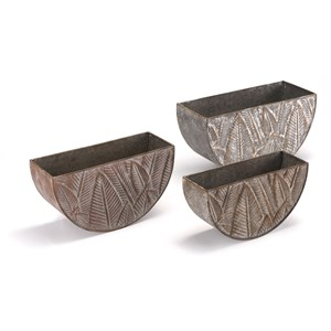 Zuo Planters Leaves Set of 3 Planters