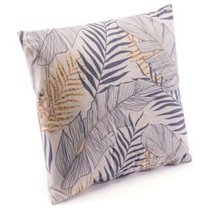 Tropical Gray Pillow