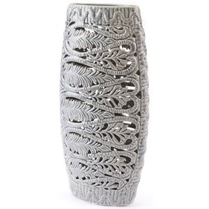 Zuo Vases Leaves Tall Vase