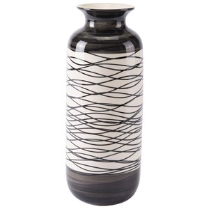 Zuo Vases Stripes Tall Vase