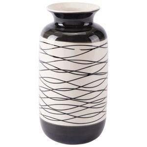 Zuo Vases Stripes Short Vase