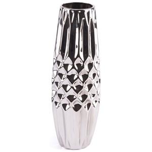 Zuo Vases Silver Medium Vase
