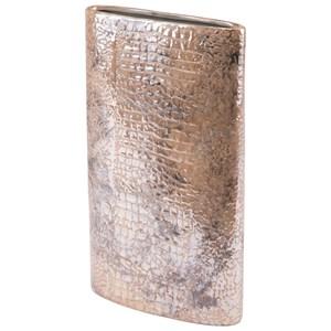 Zuo Vases Ikat Large Cylinder Vase