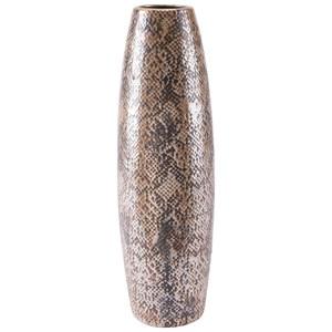 Zuo Vases Snake Skin Tall Vase