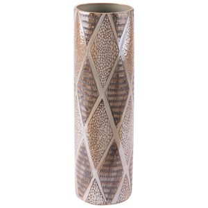 Pearl Tall Cylinder Vase