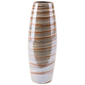 Zuo Vases Lined Medium Vase